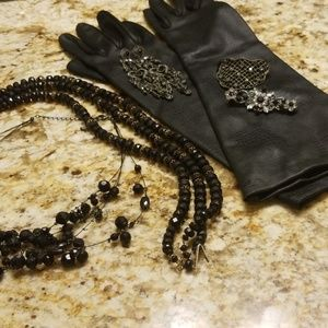 Vintage and new black items  gothic PM 670